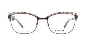 MOREL-Eyeglasses-20014 brown-women-eyeglasses-metal-rectangle