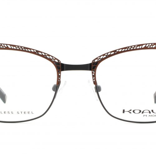 MOREL-Eyeglasses-20014 brown-women-eyeglasses-metal-rectangle