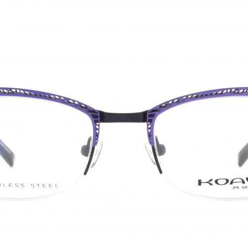 MOREL-Eyeglasses-20005 purple-women-eyeglasses-metal-rectangle