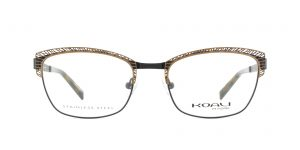 MOREL-Eyeglasses-20004 brown-women-eyeglasses-metal-rectangle