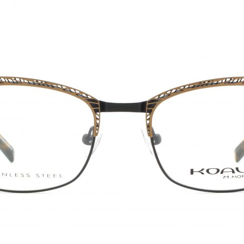 MOREL-Eyeglasses-20004 brown-women-eyeglasses-metal-rectangle