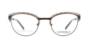 MOREL-Eyeglasses-20002 brown-women-eyeglasses-metal-oval