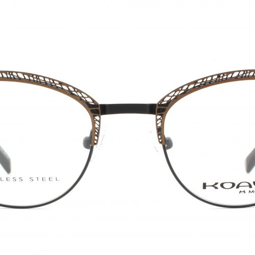 MOREL-Eyeglasses-20002 brown-women-eyeglasses-metal-oval
