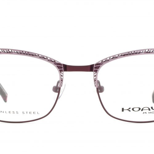 MOREL-Eyeglasses-20004 pink-women-eyeglasses-metal-rectangle