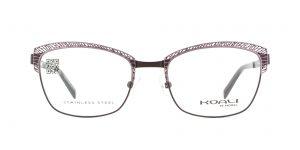 MOREL-Eyeglasses-20014 pink-women-eyeglasses-metal-rectangle
