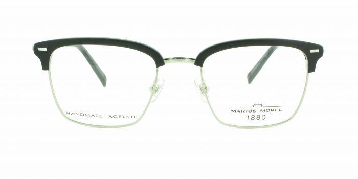MOREL-Eyeglasses-3118M grey-men-eyeglasses-mixed-rectangle