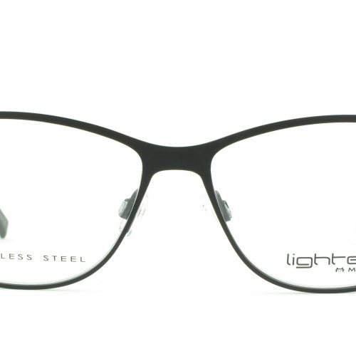 MOREL-Eyeglasses-8107L black-women-eyeglasses-metal-rectangle