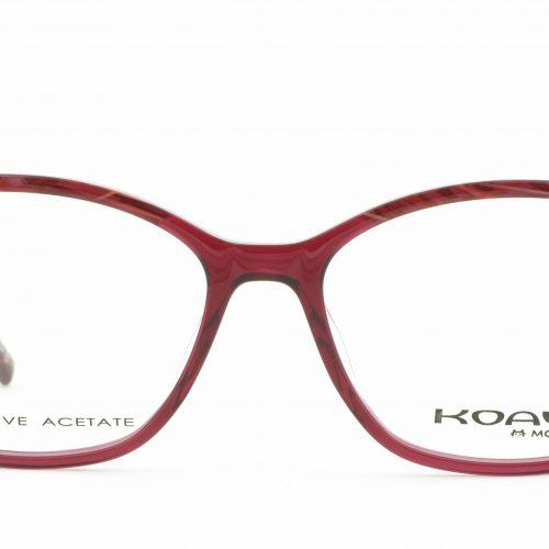MOREL-Eyeglasses-8196K red-women-eyeglasses-plastic-rectangle