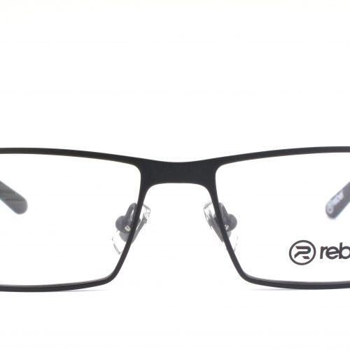 MOREL-Eyeglasses-7832R black-men-eyeglasses-metal-rectangle