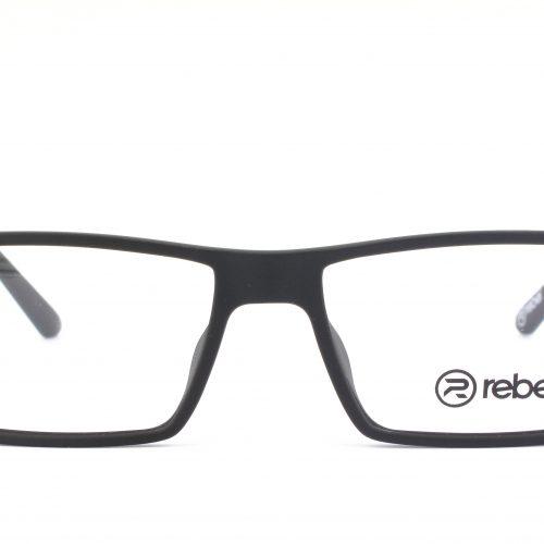 MOREL-Eyeglasses-7833R black-men-eyeglasses-plastic-rectangle
