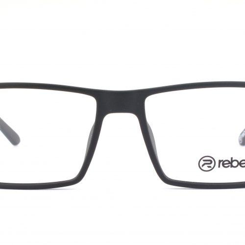 MOREL-Eyeglasses-7837R black-men-eyeglasses-plastic-rectangle