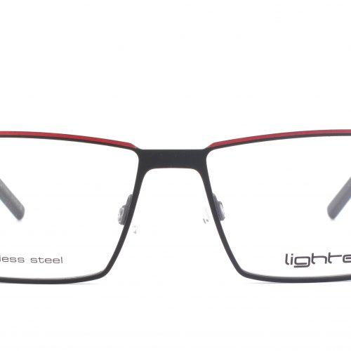 MOREL-Eyeglasses-7969L black-men-eyeglasses-metal-rectangle