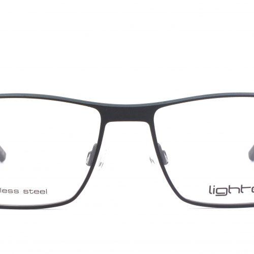 MOREL-Eyeglasses-7987L black-men-eyeglasses-metal-rectangle