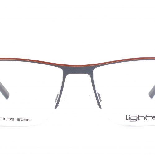 MOREL-Eyeglasses-7992L grey-men-eyeglasses-metal-rectangle