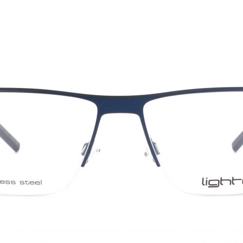 MOREL-Eyeglasses-7912L blue-men-eyeglasses-metal-rectangle