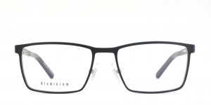 MOREL-Eyeglasses-7935O black-men-eyeglasses-metal-rectangle