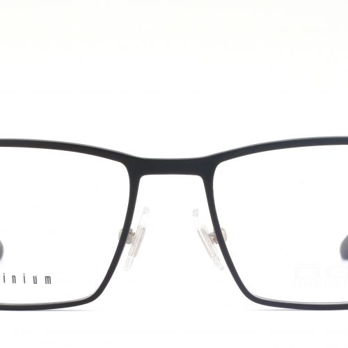 MOREL-Eyeglasses-7935O black-men-eyeglasses-metal-rectangle