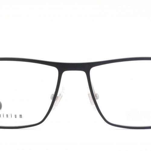 MOREL-Eyeglasses-7948O black-men-eyeglasses-metal-rectangle