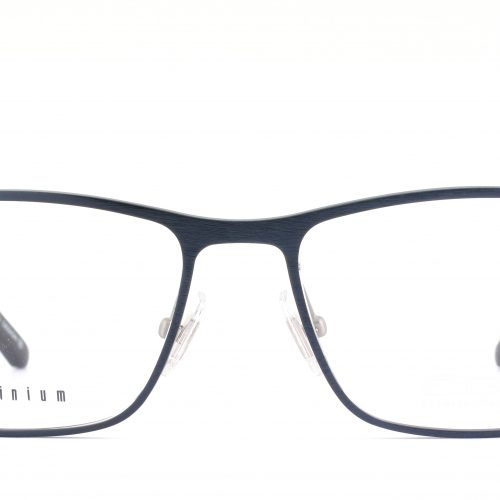 MOREL-Eyeglasses-7936O blue-men-eyeglasses-metal-rectangle