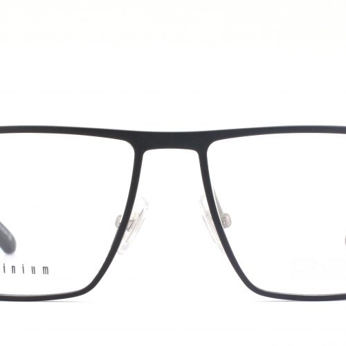 MOREL-Eyeglasses-7947O black-men-eyeglasses-metal-rectangle