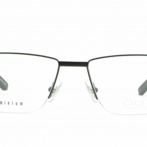 MOREL-Eyeglasses-7954O black-men-eyeglasses-metal-rectangle