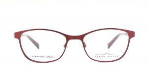 MOREL-Eyeglasses-2928M red-women-eyeglasses-metal-oval