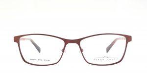MOREL-Eyeglasses-2930M red-women-eyeglasses-metal-rectangle