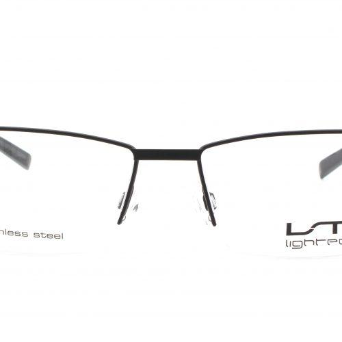 MOREL-Eyeglasses-7779L black-men-eyeglasses-metal-rectangle