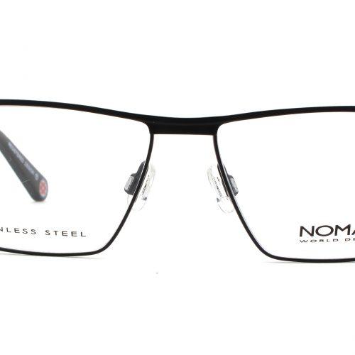 MOREL-Eyeglasses-2685N black-men-eyeglasses-metal-rectangle
