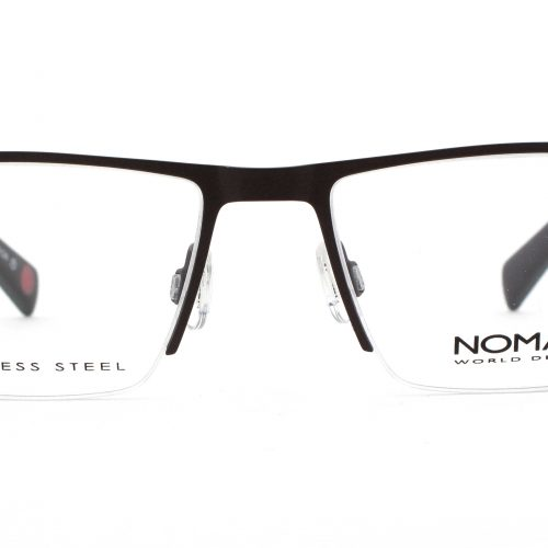 MOREL-Eyeglasses-2717N brown-men-eyeglasses-metal-rectangle
