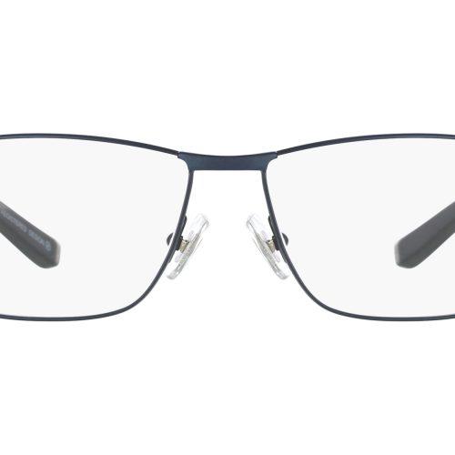 MOREL-Eyeglasses-7767O blue-men-eyeglasses-metal-rectangle