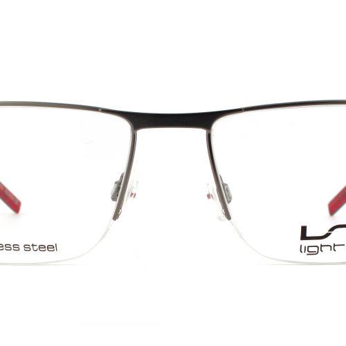 MOREL-Eyeglasses-7694L grey-men-eyeglasses-metal-rectangle
