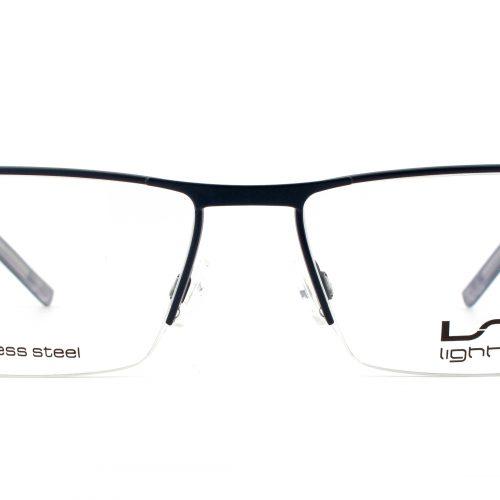 MOREL-Eyeglasses-7695L blue-men-eyeglasses-metal-rectangle