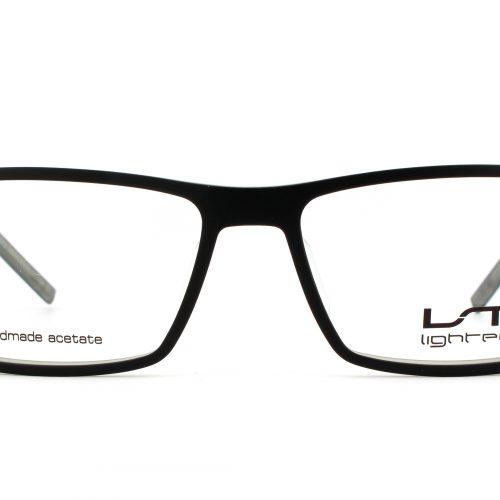 MOREL-Eyeglasses-7689L black-men-eyeglasses-plastic-rectangle