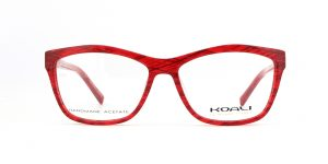 MOREL-Eyeglasses-7667K red-women-eyeglasses-plastic-oval