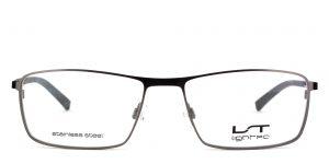 MOREL-Eyeglasses-7471L grey-men-eyeglasses-metal-rectangle