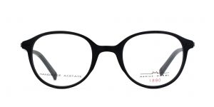 MOREL-Eyeglasses-2202M black-men-eyeglasses