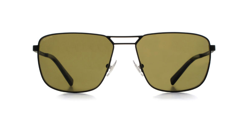MOREL-Sunglasses-10027 black-men-sunglasses-metal-rectangle