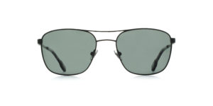 MOREL-Sunglasses-70021 black-men-sunglasses-metal-rectangle
