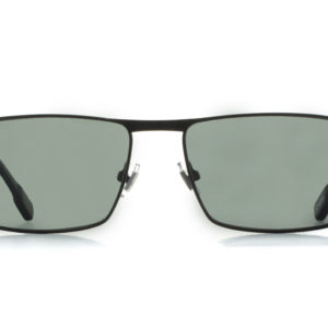 MOREL-Sunglasses-70023 black-men-sunglasses-metal-rectangle