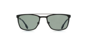 MOREL-Sunglasses-70027 black-men-sunglasses-metal-rectangle