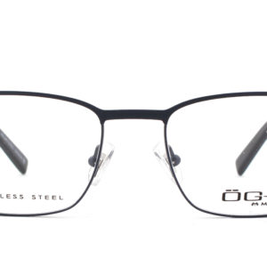 MOREL-Eyeglasses-10035 blue-men-eyeglasses-metal-rectangle