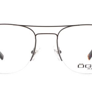 MOREL-Eyeglasses-10048 brown-men-eyeglasses-metal-pilot