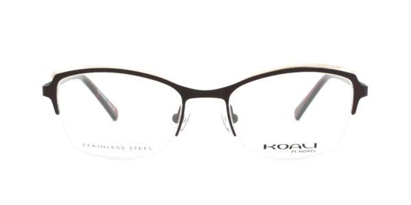 MOREL-Eyeglasses-20018 brown-women-eyeglasses-metal-rectangle
