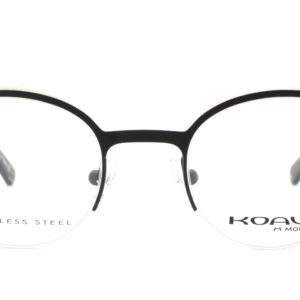 MOREL-Eyeglasses-20019 black-women-eyeglasses-metal-round