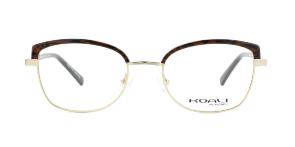 MOREL-Eyeglasses-20024 brown-women-eyeglasses-mixed-rectangle