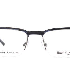 MOREL-Eyeglasses-30027 black-men-eyeglasses-mixed-rectangle
