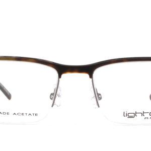 MOREL-Eyeglasses-30028 brown-men-eyeglasses-mixed-rectangle