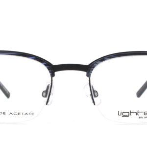MOREL-Eyeglasses-30029 black-men-eyeglasses-mixed-pantos