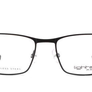 MOREL-Eyeglasses-30041 black-men-eyeglasses-metal-rectangle